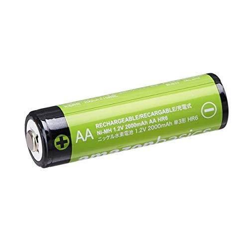 AmazonBasics Vorgeladene Ni-MH AA-Akkus – Akkubatterien, 2000 mAh, 16 Stck (Batterienfolie kann vom Produktfoto abweichen) - 3
