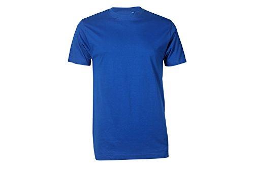 Arbeits T-Shirt Basic royalblau - Arbeitsshirts - kurze Shirts - Gr. XXL