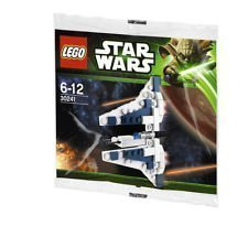 LEGO Star Wars Mandalorian Fighter Poly Bag Set 30241 by LEGO TOY (English Manual)
