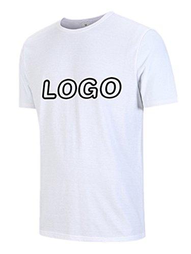 BOMOVO Premium T-Shirt Herren Weiß