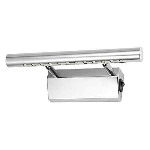 Acero inoxidable espejo lámpara abedoe IP44baño lámpara-Lámpara de pared para baño Espejo...