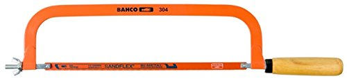 BAHCO 304 Metallsägebogen 12 Zoll in braun/orange