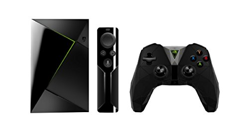 Nvidia Shield TV - Android TV gaming (resolución 4K HDR, memoria interna de 16 GB, 3 GB de RAM, Android 7.0), negro