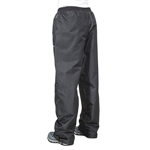 Trespass Women's Tutula Waterproof Trousers - Black, 2X-Small