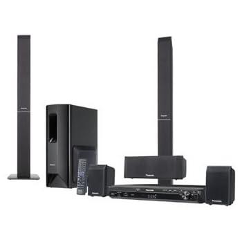 Panasonic SC-PT 550 EG-K 5.1channels 1000W home cinema system - Home Cinema Systems (DVD player, CD,DVD, NTSC, 5.1 channels, 1000 W, Dolby Digital,DTS)
