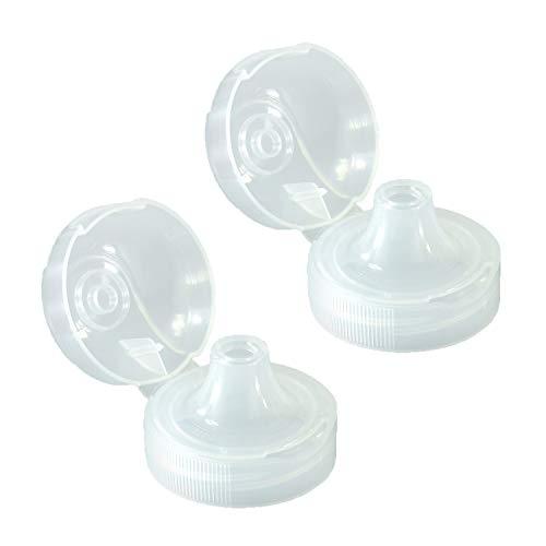 2 x Sportverschluss für Tritan,- u. Polycarbonatflaschen Trinkdeckel Trinkdeckel Flip Top -