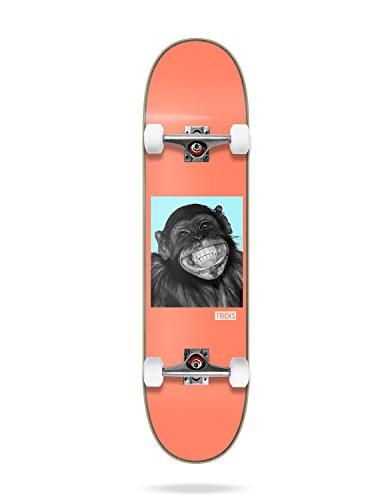 Tricks-Skateboard trcb8b01–08Komplette Skateboard, Unisex Erwachsene, Orange, Einheitsgröße
