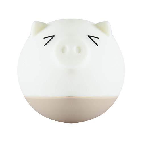 Troubled Schwein spüren Energiesparen led kleine Nachtlicht Baby Fütterung Schlafzimmer Schlaf Plug-in elektrische Bett Kopf Auge Nachtlicht (Plug-in-licht-spur)