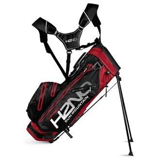 Sun Mountain SUM18HLS14 Sac de Golf Mixte Adulte, Rouge/Noir/Blanc
