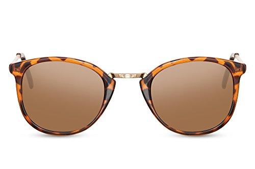 c0ca228eb0 Cheapass Gafas de Sol Animal Print Marrón Leopardo Mujer Hombre