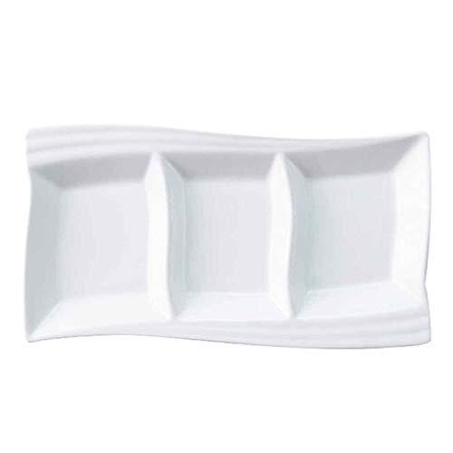 Hl-tableware piatti da tavola in porcellana bianca piatti piatti quadrati piatti da dessert stoviglie da cucina