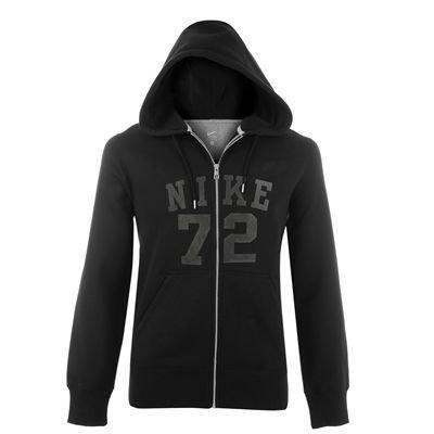 Nike Classic FLC 72 Sweat zippé à capuche pour homme Noir Noir/anthracite s