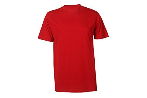 Arbeits T-Shirt Basic rot - Arbeitsshirts - kurze Shirts - Gr. XL