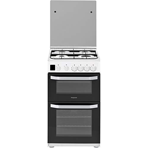 Hotpoint HD5G00CCW Freestanding Electric A Rated Cooker - White Best Price and Cheapest