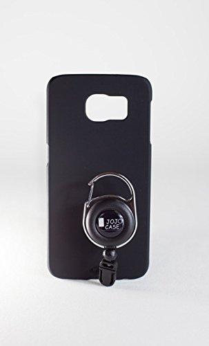 JoJo Case schwarz für Samsung Galaxy S6 Handy Hard Case Schutz Hülle Back Cover Bumper