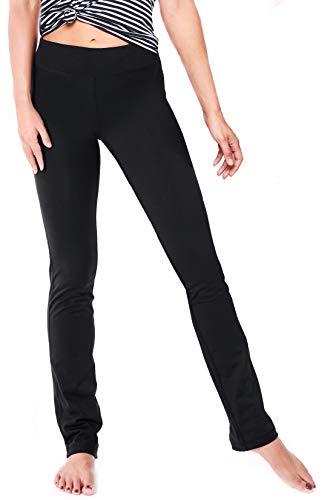 Yogipace Petite/Hoch Länge Damen Gerade Bein Yoga Pants Workout Hose Slim Fit für Jeden Körper Typ, Damen, 31