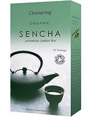 Pack of 1 : Clearspring Organic Green Tea Sencha 40g