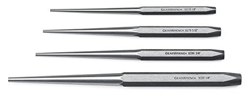 Long Taper Punch (GearWrench 82307 4 Piece Long Taper Punch Set by GearWrench)