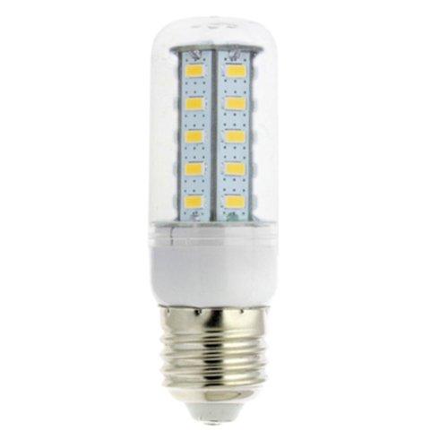 TOOGOO(R) 10Pcs 7W 5730 LED Gluehbirne Birne Mais Licht Leuchtmittel Strahler Lampe E27 warmweiss