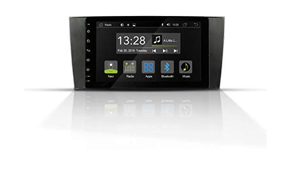 Radical R C10mb1 Mit 8 Touchscreen Autoradio Passend Für Mercedes C Klasse Mit 7 1 Android Os Vorbereitet Für Navigation Fm Radio Bluetooth Usb Easyconnect Unterstützt Ops Klimastatus Navigation