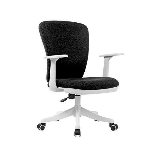 Bürostuhl Computer Stuhl Haushalt Stoff Freizeit Drehstuhl weiß