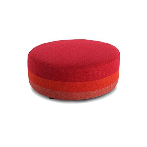 Uus Modernes minimalistisches Stoff-waschbares Sofa-Feste Holz beschuht den Schemel, der kreativen kleinen sitzenden Pier Futon Schemel kleidet Schemel (Farbe : F) (Futon Sofa Und Stühlen)