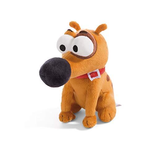 NICI 44232 Pat The Dog - Peluche Sentado (19 cm), Color marrón
