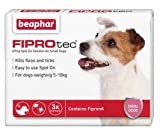 Fiprotec Spot On Solution for Small Dogs (3 Treatments)