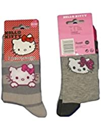 Hello Kitty Chaussettes Fille Gris