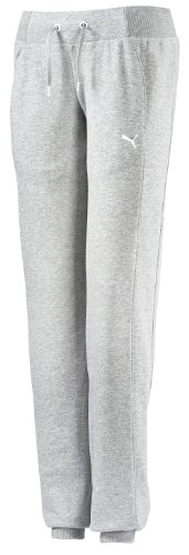 Puma Sweat Pants Terry, Closed Bottom Pantalon multisport femme Gris - Gris