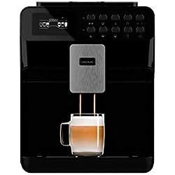 Cecotec Power Matic-ccino 7000 - Cafetera Superautomática, Depósito de Leche, Pantalla digital, Café totalmente Personalizable, Tecnología ForceAroma 19 bares de presión, Bandeja Calienta tazas