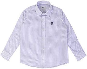 Scalpers Siena Shirt Kids - Camisa para niño, Talla 6, Color Rayas Azules