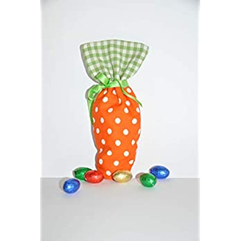 Osterbeutel, Karottensäckchen, Möhrensäckchen, Karottenbeutel, Möhrenbeutel, Ostern Geschenk, Karotte, Möhre