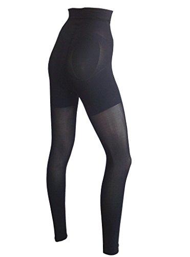 Dr. Rey Shapewear High-Waisted Leggings und Taillenformer schwarz Schwarz