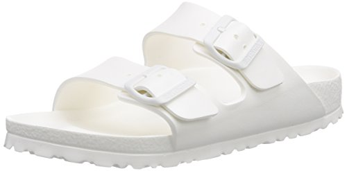 Birkenstock Arizona EVA, Sandali unisex - adulto, bianco (white), 40