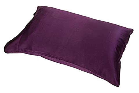 Satin Silk Pillowcases Queen/Standard Size For Facial Beauty, Hair Health,