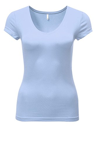 only-damen-t-shirt-onllive-love-new-ss-v-neck-top-noos-blau-forever-blue-40-herstellergrossel