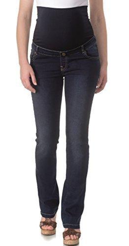 vêtements de maternité bellybutton Jeans Maya coupe straight-leg (Jambe Droite) - stone washed, 40 pierre solide laver