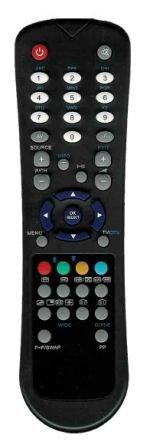 Remote Control RC1055 for LCD TV MATSUI
