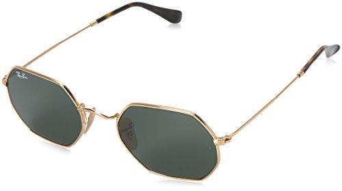 Ray-Ban Unisex-Erwachsene Sonnenbrille Rb 3556n Gold/Green, 53