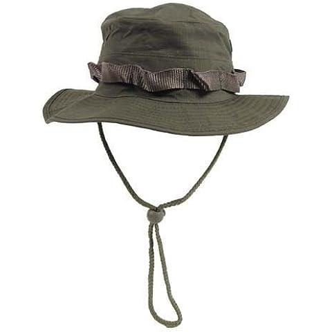 GI Boonie sombrero, EEUU gorro arbusto oliva S-XL - T. S (circunferencia cabeza 54-55cm)