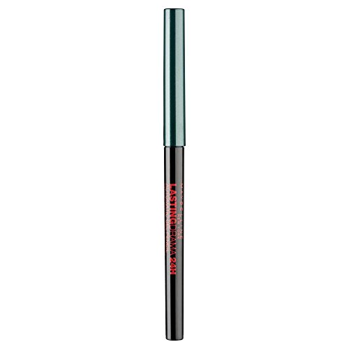 Maybelline Lasting Drama 24H Gel Mechanical Eyeliner in Crushed Emerald, grüner Gel-Eyeliner, für...