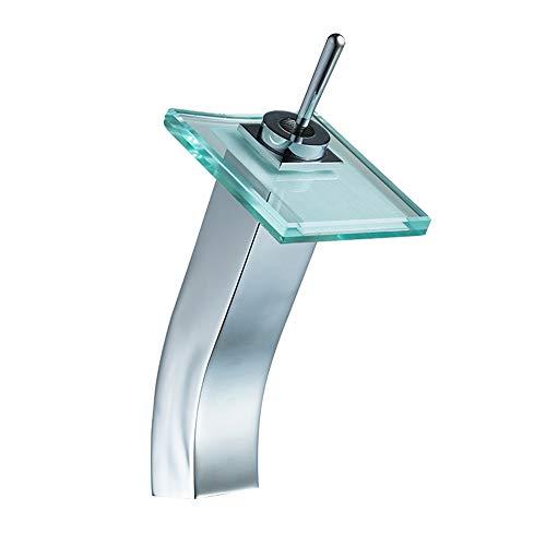 Wasserhahn Küchenarmaturen Waschraumarmaturen Kupfer und Glas