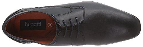 Bugatti 312101011000, Derby Homme Noir (schwarz 1000)