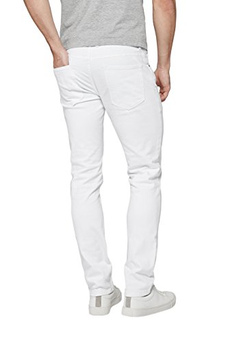 next Jean stretch Coupe Slim Homme Blanc