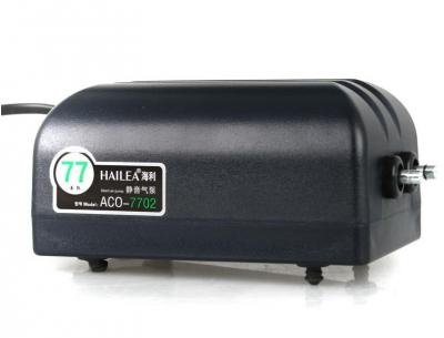 Hailea ACO-7702 Aquarienbelüfter Membranpumpe, Luftpumpe