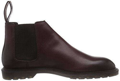 Dr. Martens Wilde Temperley Cherry Red, Bottes Chelsea homme Rouge - Rouge (cerise)
