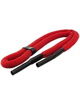 Edison & King Cordón flotante para gafas en colores vivos/fosforito a elegir en paquete de 1 o 2 unidades (rojo...