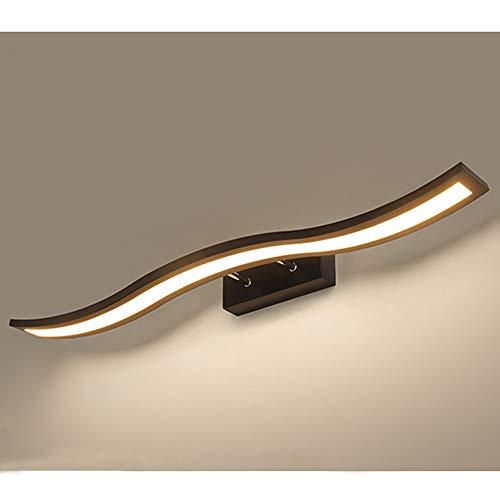 Espejo baño LED Luz pared Lámpara pared frontal