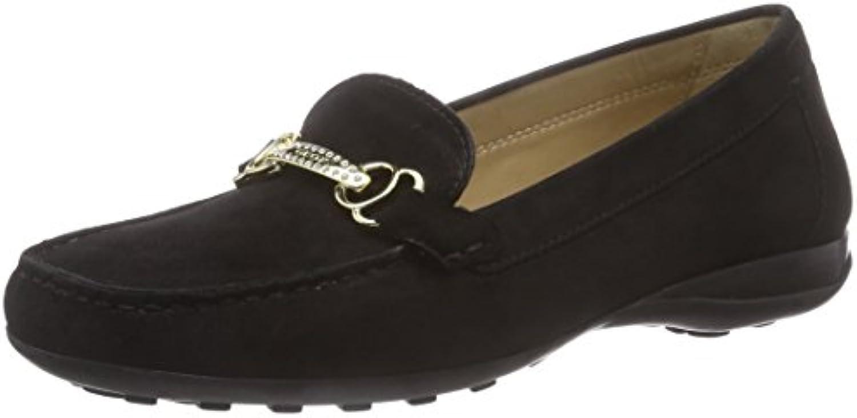 Geox Donna Euro B Damen Mokassin 2018 Letztes Modell  Mode Schuhe Billig Online-Verkauf